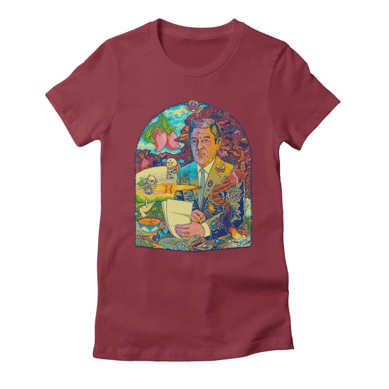 Constant Stimulation is Required. Women's Fitted T-Shirt by redleggerstudio's Shop