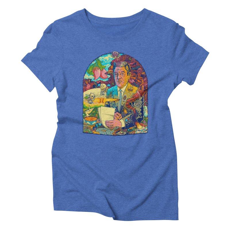 Constant Stimulation is Required. Women's Triblend T-Shirt by redleggerstudio's Shop