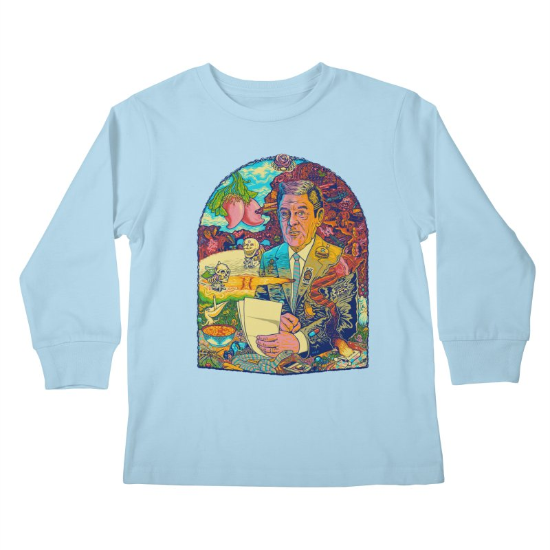 Constant Stimulation is Required. Kids Longsleeve T-Shirt by redleggerstudio's Shop