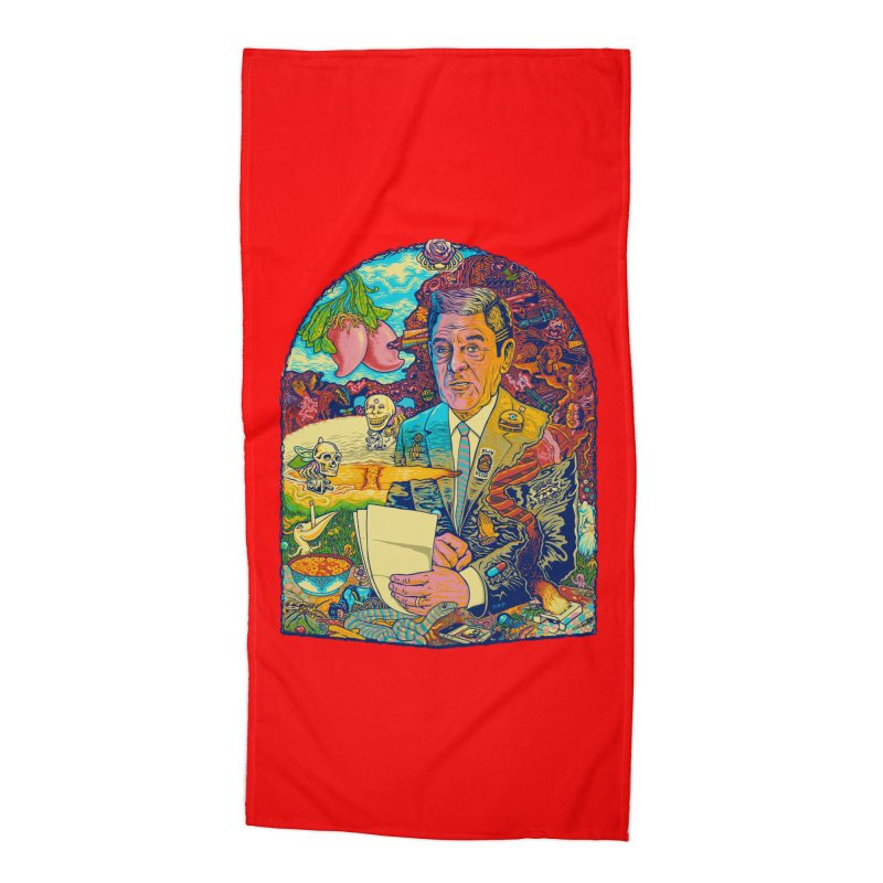 Constant Stimulation is Required. Accessories Beach Towel by redleggerstudio's Shop
