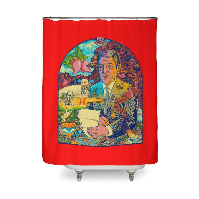 Constant Stimulation is Required. Home Shower Curtain by redleggerstudio's Shop