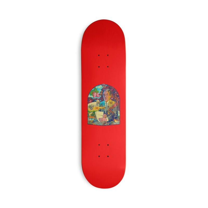 Constant Stimulation is Required. Accessories Skateboard by redleggerstudio's Shop