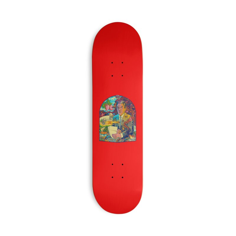Constant Stimulation is Required. Accessories Skateboard by redleggerstudio's Shop