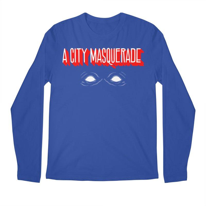 A City Masquerade Men's Longsleeve T-Shirt by redleggerstudio's Shop