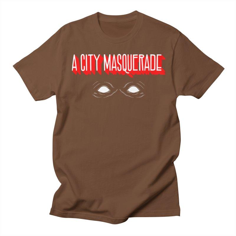A City Masquerade Men's T-shirt by redleggerstudio's Shop