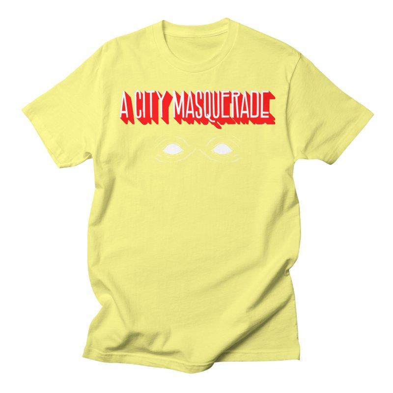 A City Masquerade Women's Unisex T-Shirt by redleggerstudio's Shop