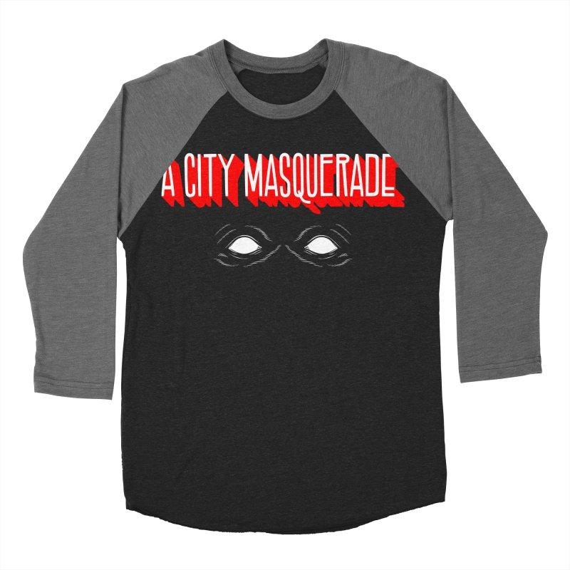 A City Masquerade Women's Baseball Triblend T-Shirt by redleggerstudio's Shop