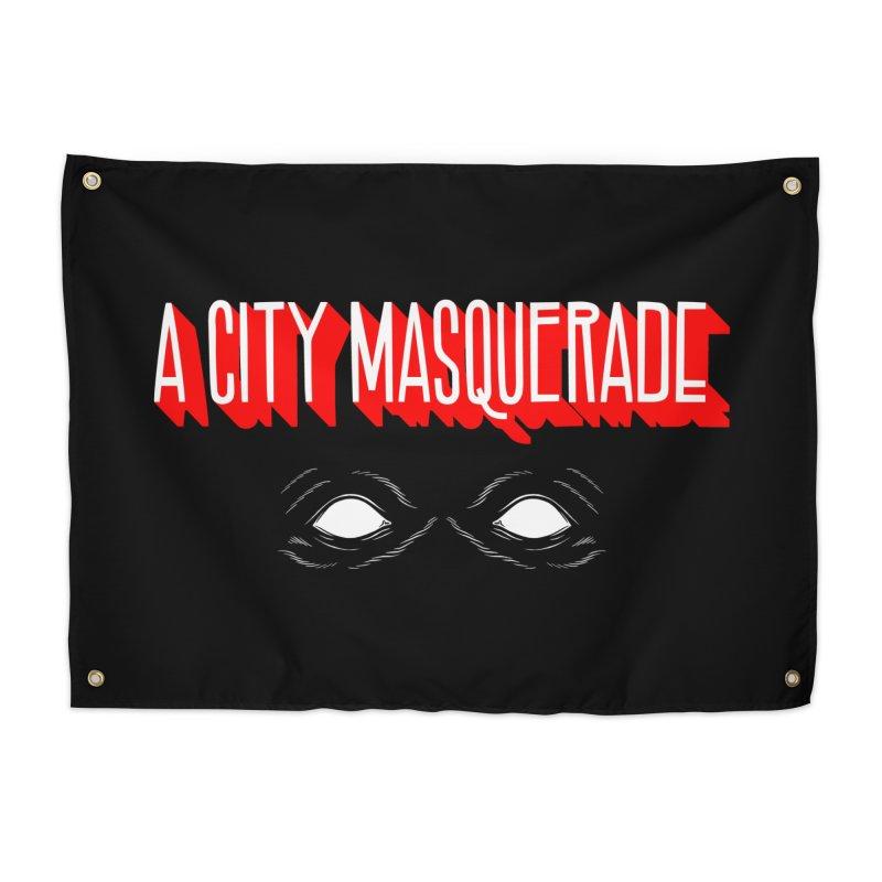 A City Masquerade Home Tapestry by redleggerstudio's Shop