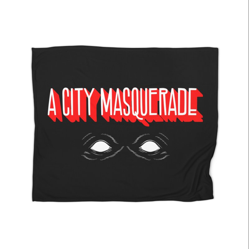 A City Masquerade Home Blanket by redleggerstudio's Shop
