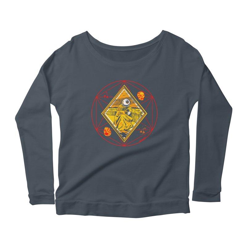 You Can't See Me Women's Scoop Neck Longsleeve T-Shirt by redleggerstudio's Shop