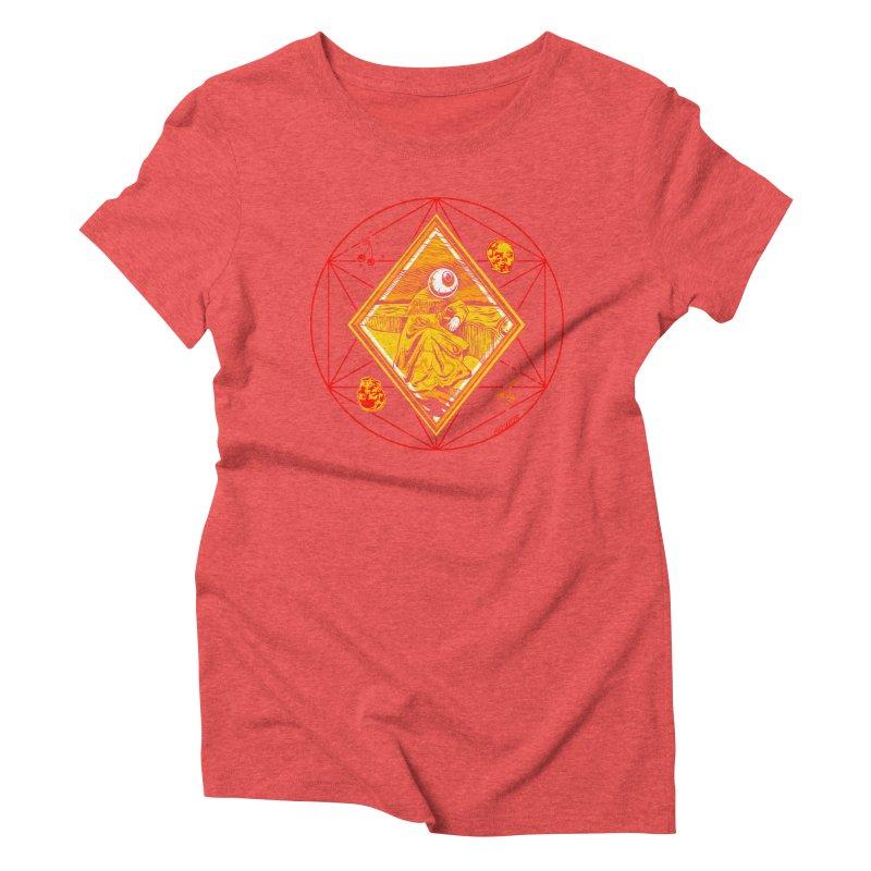 You Can't See Me Women's Triblend T-Shirt by redleggerstudio's Shop