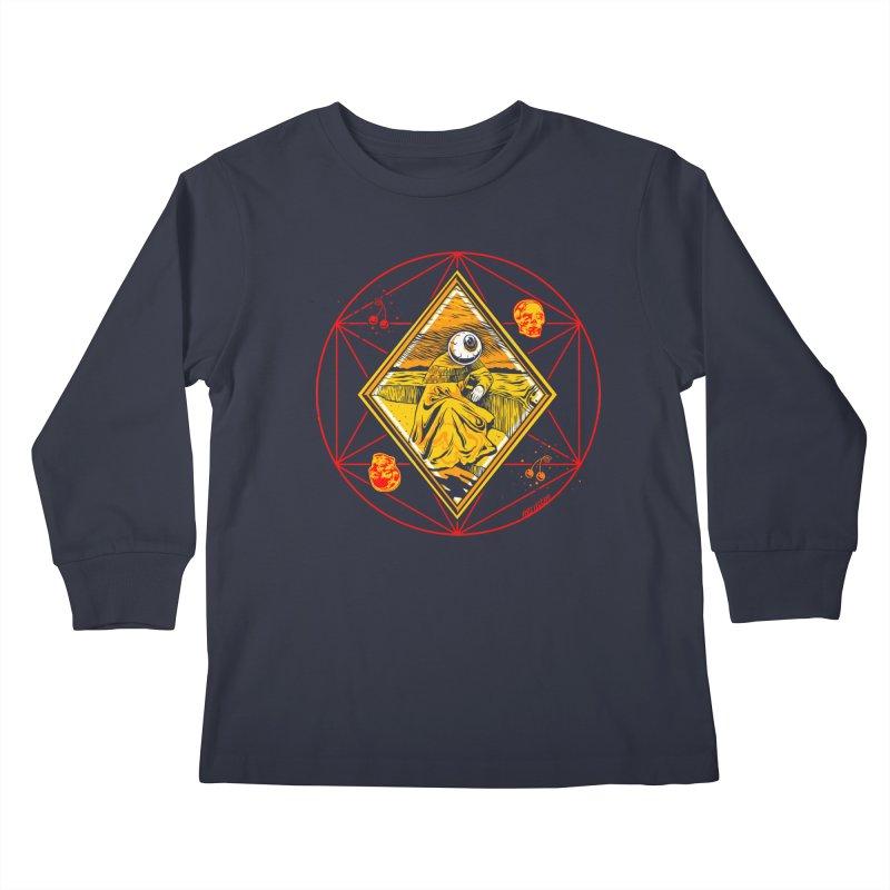 You Can't See Me Kids Longsleeve T-Shirt by redleggerstudio's Shop