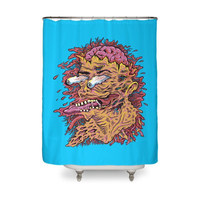 Heads Will Roll Home Shower Curtain by redleggerstudio's Shop