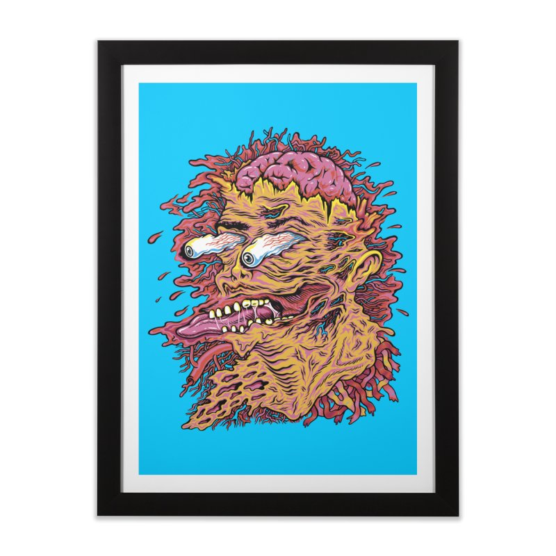 Heads Will Roll Home Framed Fine Art Print by redleggerstudio's Shop