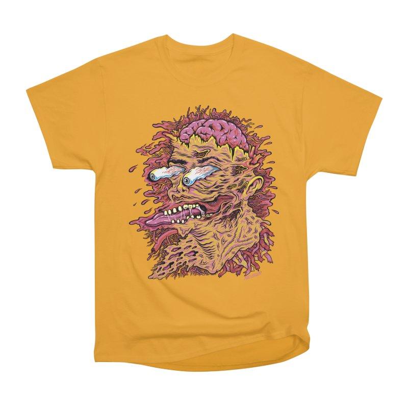 Heads Will Roll Men's Heavyweight T-Shirt by redleggerstudio's Shop
