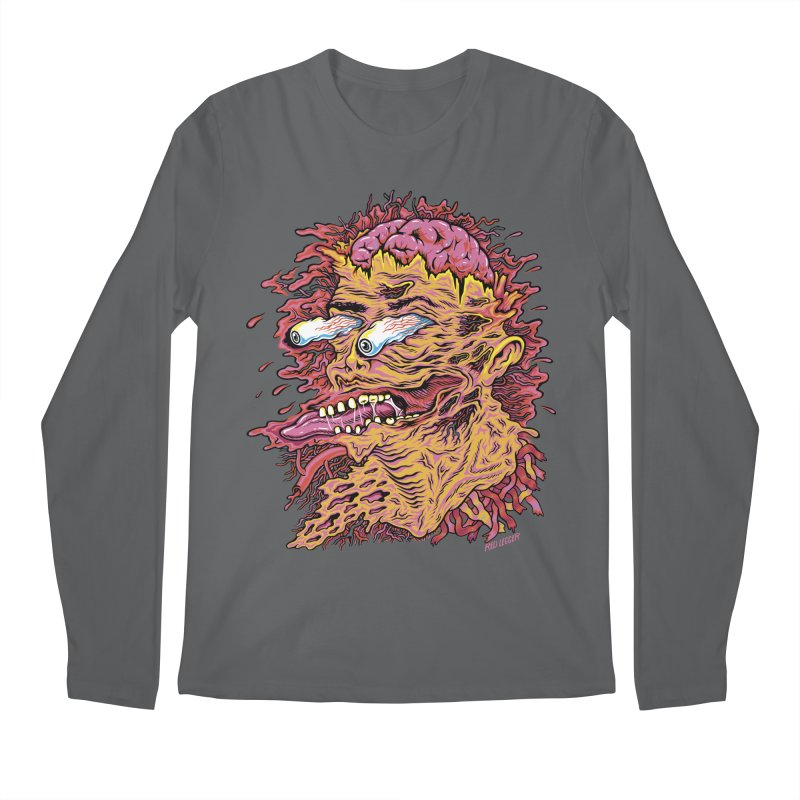 Heads Will Roll Men's Longsleeve T-Shirt by redleggerstudio's Shop