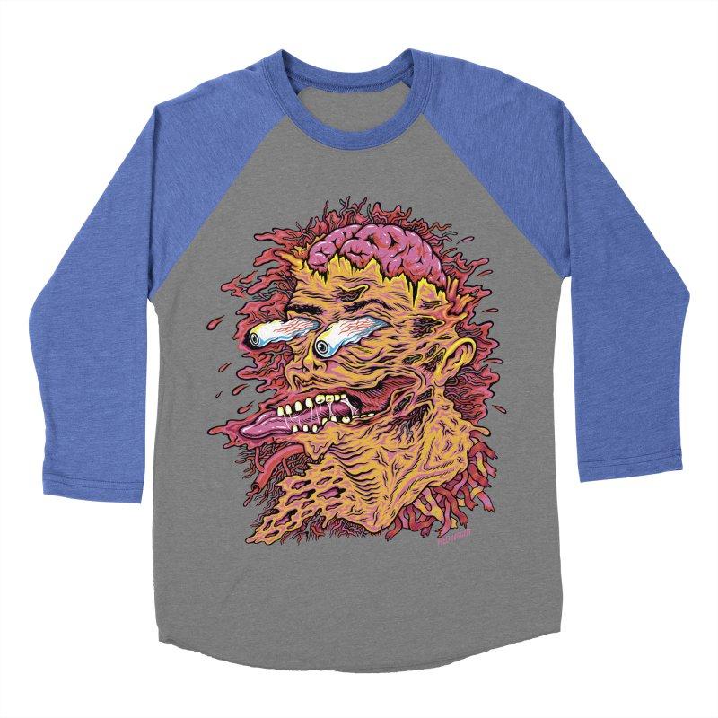 Heads Will Roll Men's Baseball Triblend T-Shirt by redleggerstudio's Shop