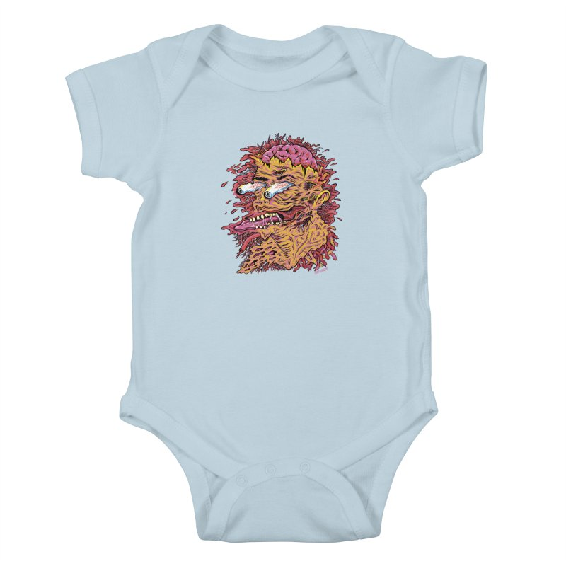 Heads Will Roll Kids Baby Bodysuit by redleggerstudio's Shop