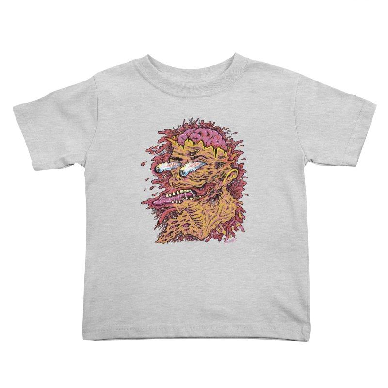 Heads Will Roll Kids Toddler T-Shirt by redleggerstudio's Shop