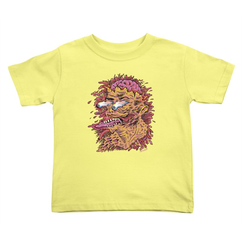 Heads Will Roll Kids Toddler T-Shirt by redleggerstudio's Shop