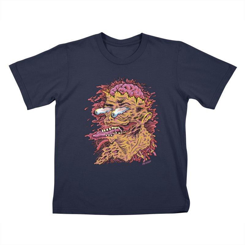 Heads Will Roll Kids T-Shirt by redleggerstudio's Shop