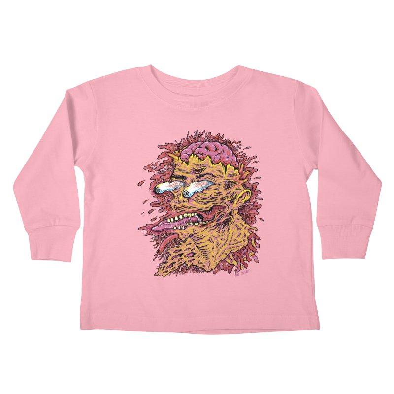 Heads Will Roll Kids Toddler Longsleeve T-Shirt by redleggerstudio's Shop