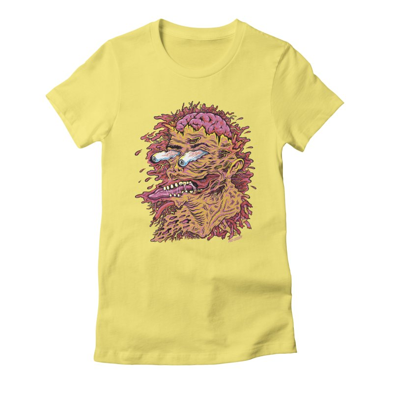 Heads Will Roll Women's Fitted T-Shirt by redleggerstudio's Shop
