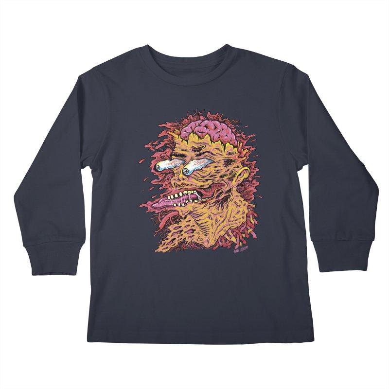Heads Will Roll Kids Longsleeve T-Shirt by redleggerstudio's Shop
