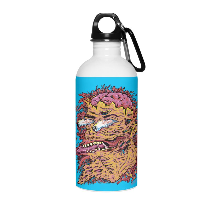 Heads Will Roll Accessories Water Bottle by redleggerstudio's Shop