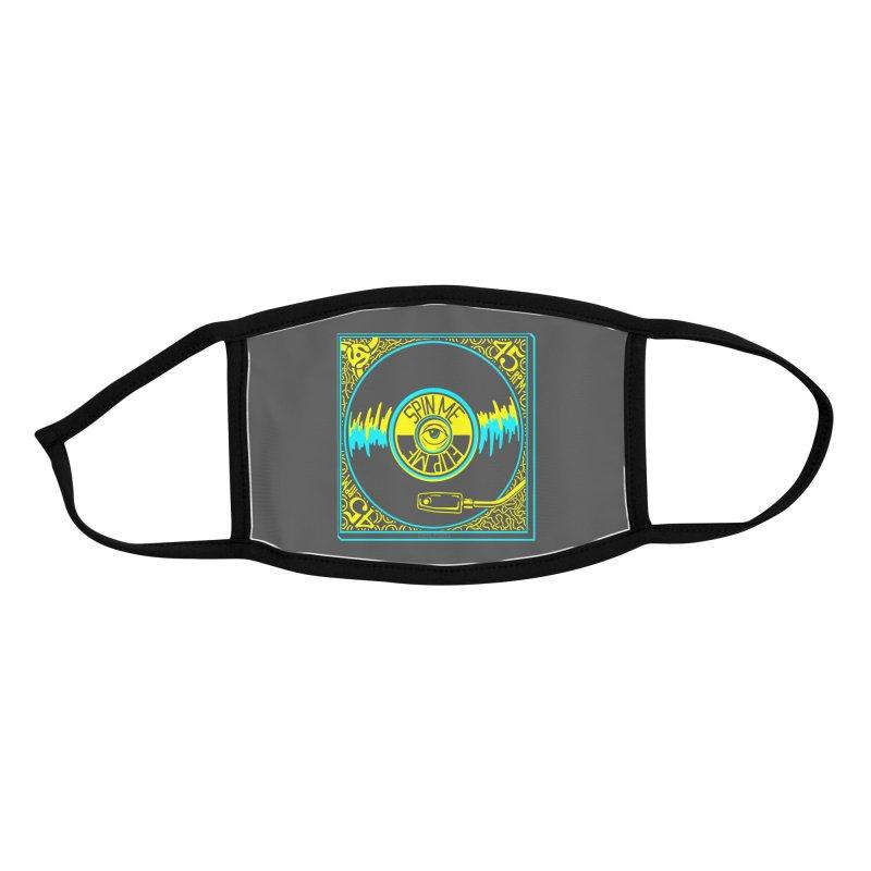 Spin Me, Flip Me Accessories Face Mask by redleggerstudio's Shop