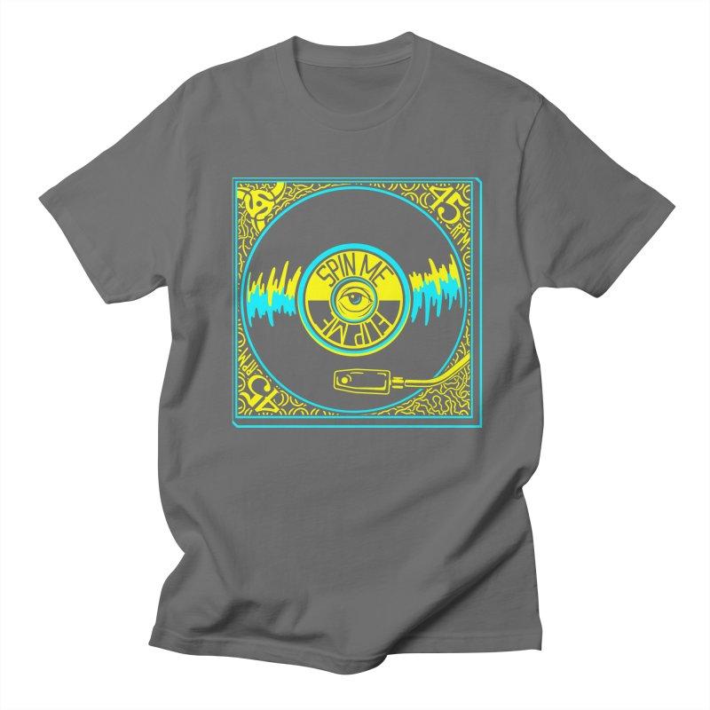 Spin Me, Flip Me Men's T-Shirt by redleggerstudio's Shop