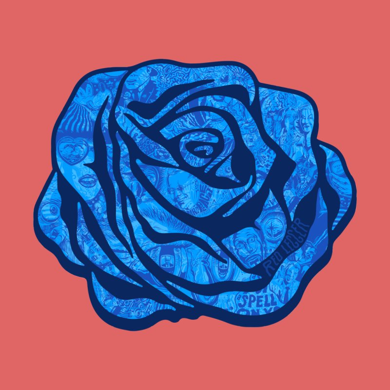 Roses Are Blue by redleggerstudio's Shop