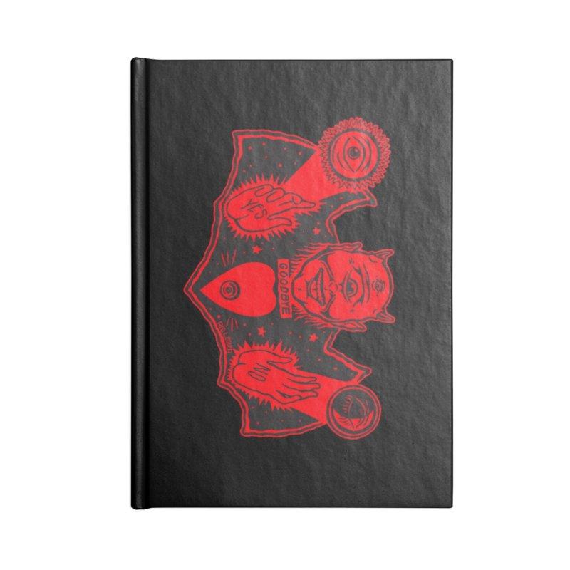 Ouija God Accessories Notebook by redleggerstudio's Shop