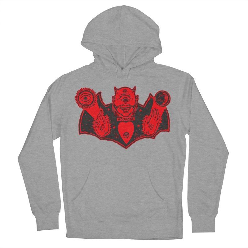 Ouija God Men's Pullover Hoody by redleggerstudio's Shop