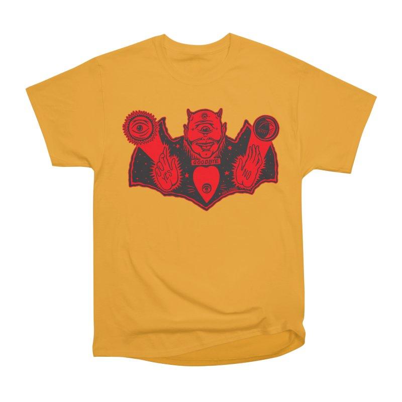 Ouija God Women's Heavyweight Unisex T-Shirt by redleggerstudio's Shop