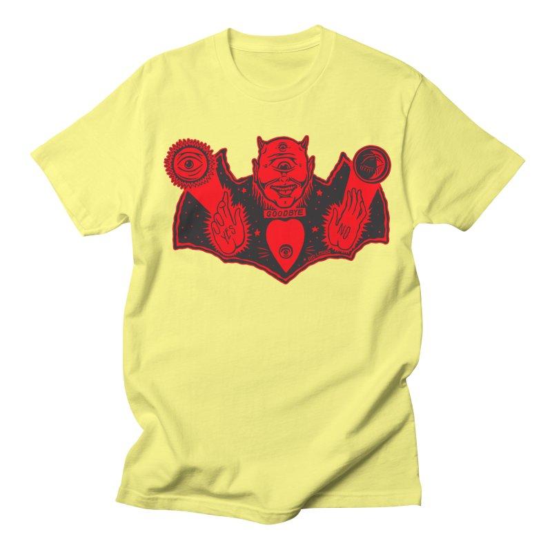 Ouija God Women's Regular Unisex T-Shirt by redleggerstudio's Shop