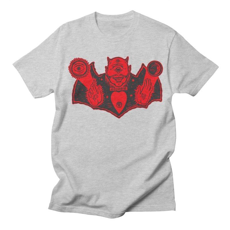 Ouija God Men's T-Shirt by redleggerstudio's Shop
