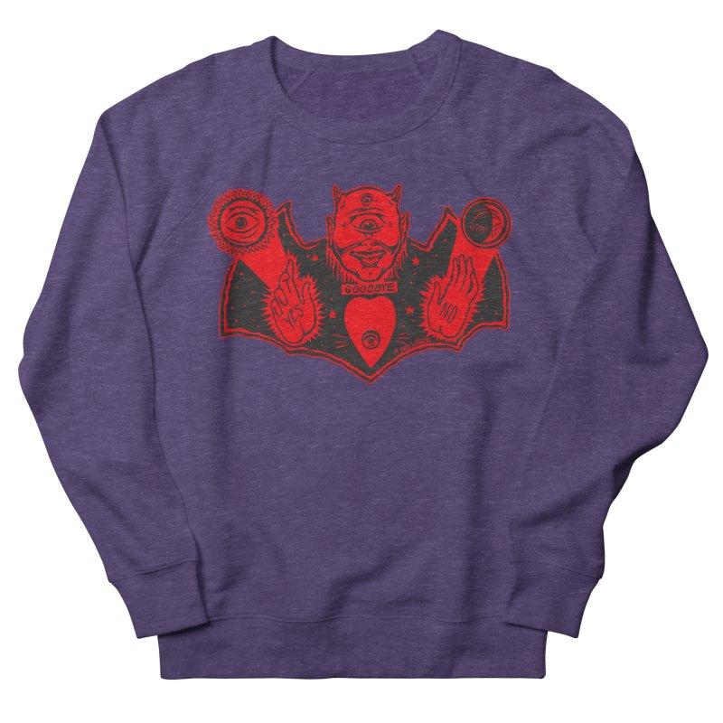 Ouija God Men's French Terry Sweatshirt by redleggerstudio's Shop