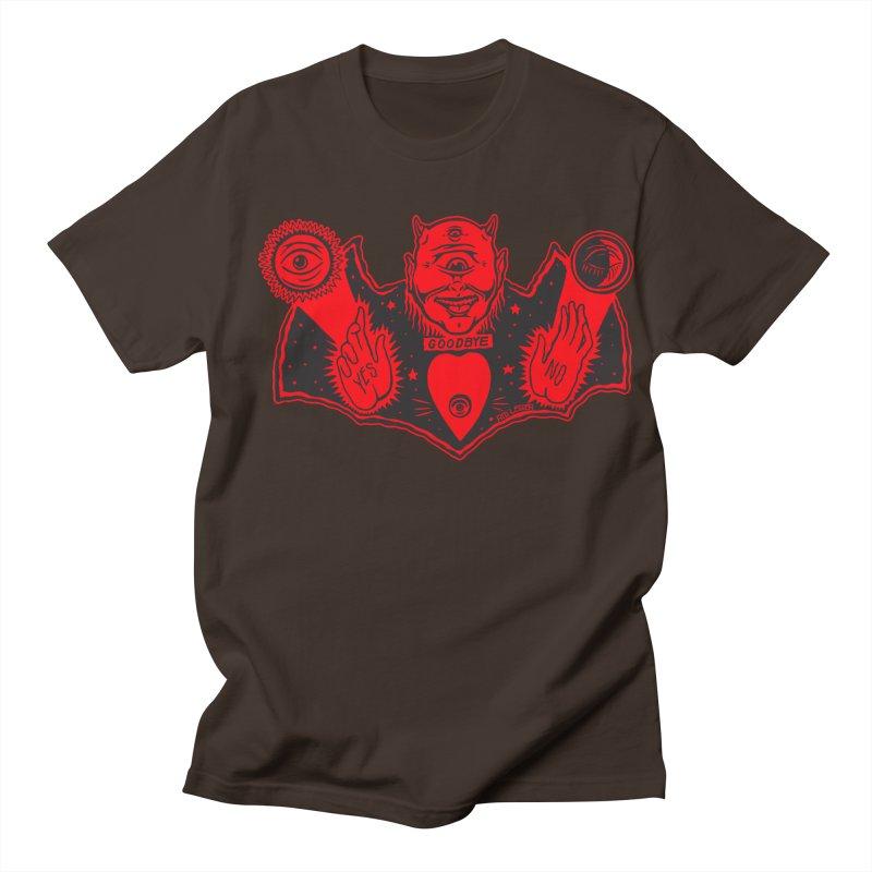 Ouija God Men's Regular T-Shirt by redleggerstudio's Shop