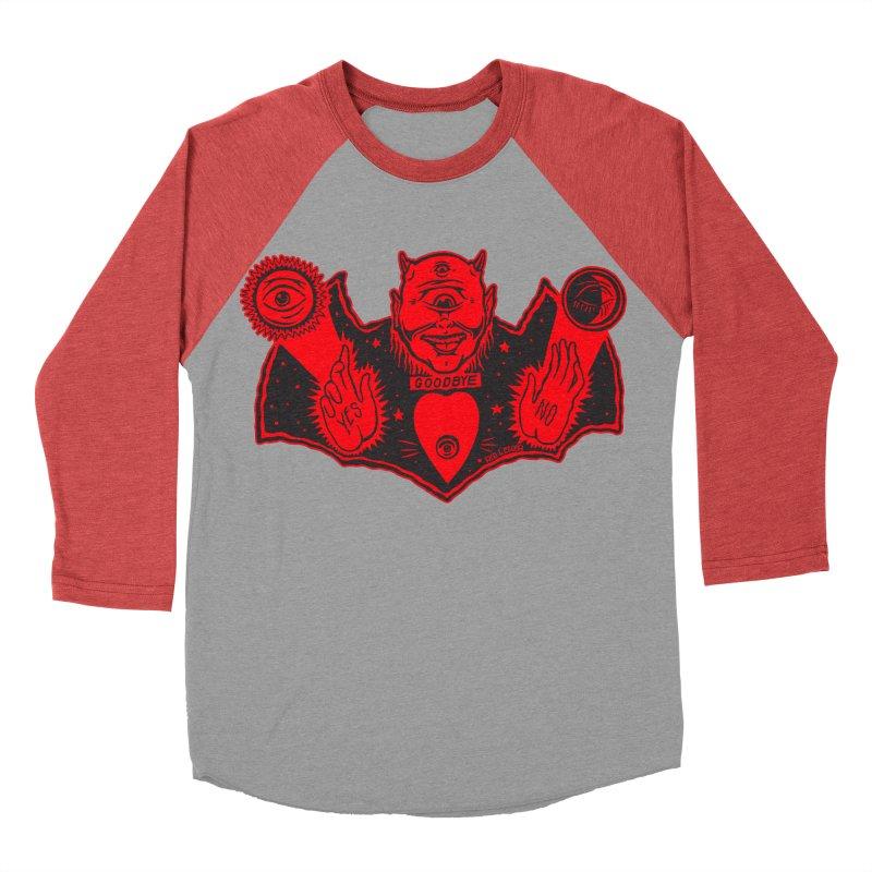Ouija God Women's Baseball Triblend T-Shirt by redleggerstudio's Shop