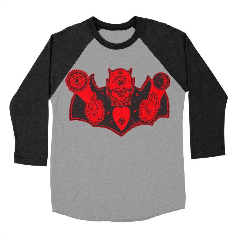 Ouija God Men's Baseball Triblend T-Shirt by redleggerstudio's Shop