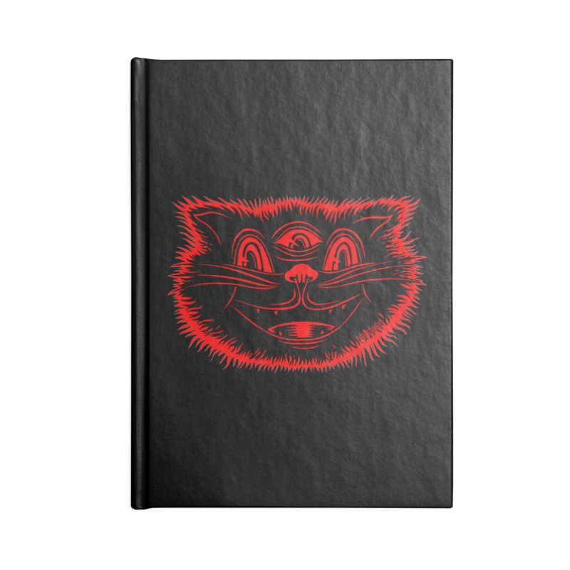 Meow Meow Accessories Notebook by redleggerstudio's Shop