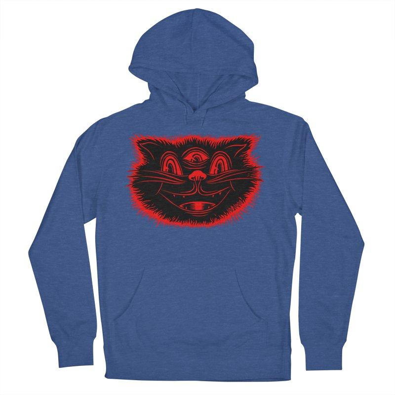 Meow Meow Women's Pullover Hoody by redleggerstudio's Shop