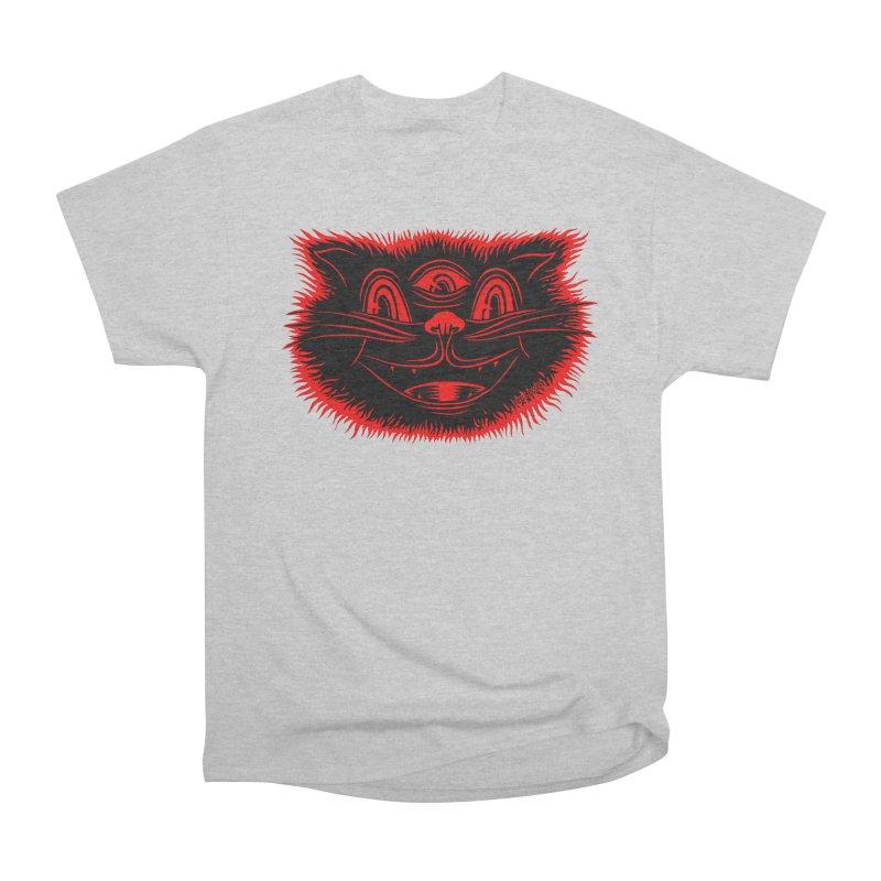 Meow Meow Men's Classic T-Shirt by redleggerstudio's Shop