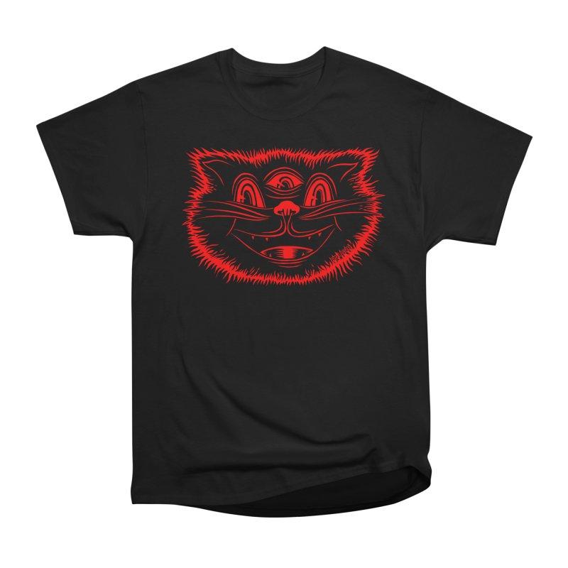 Meow Meow Women's Heavyweight Unisex T-Shirt by redleggerstudio's Shop