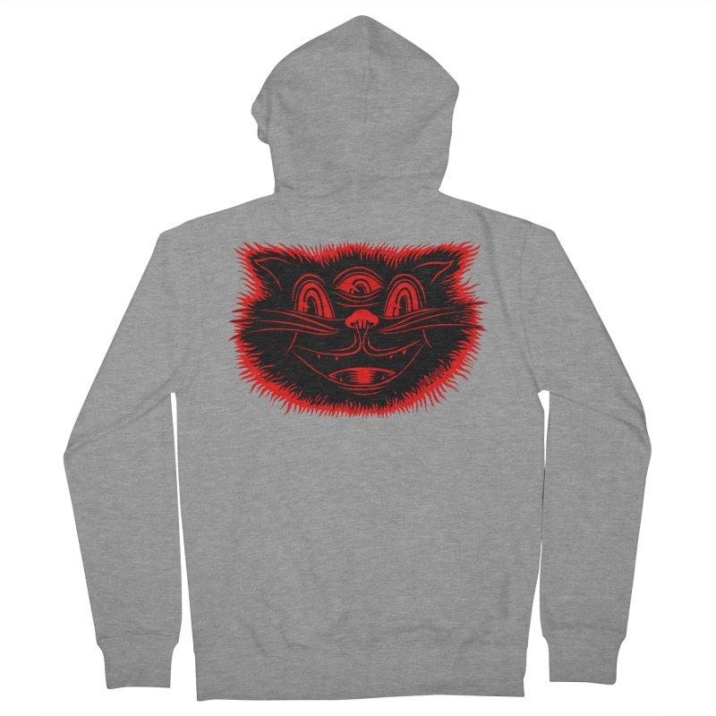 Meow Meow Women's Zip-Up Hoody by redleggerstudio's Shop