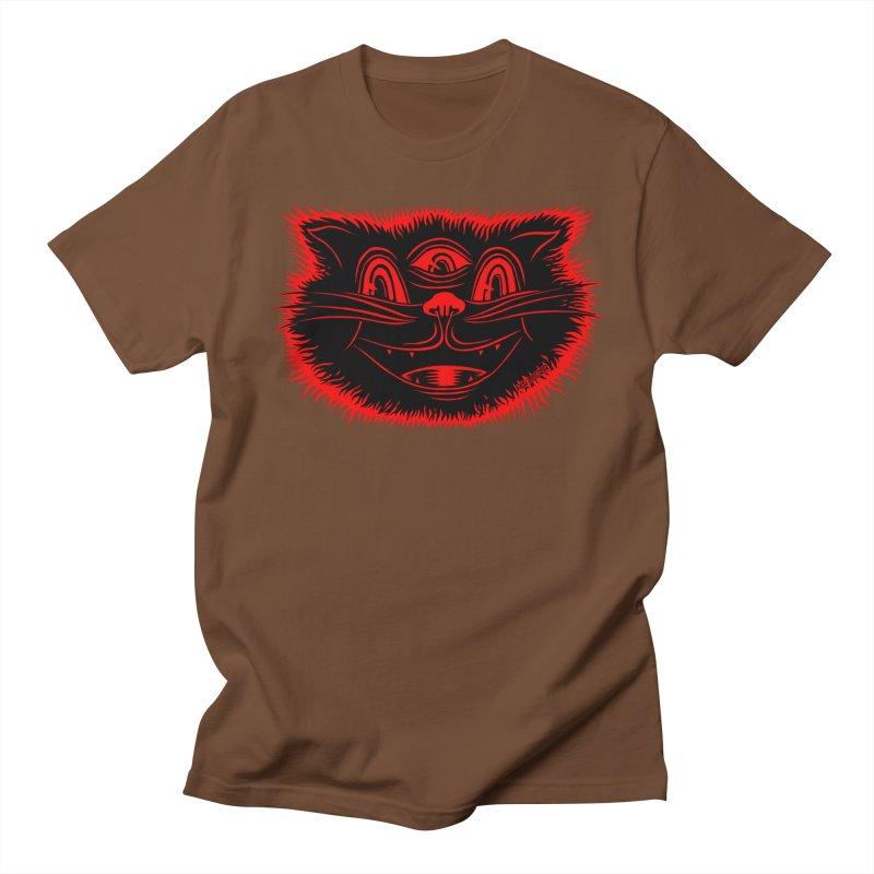Meow Meow Women's Regular Unisex T-Shirt by redleggerstudio's Shop
