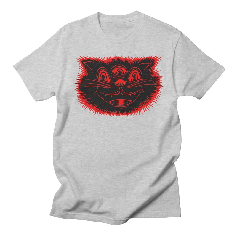 Meow Meow Men's Regular T-Shirt by redleggerstudio's Shop