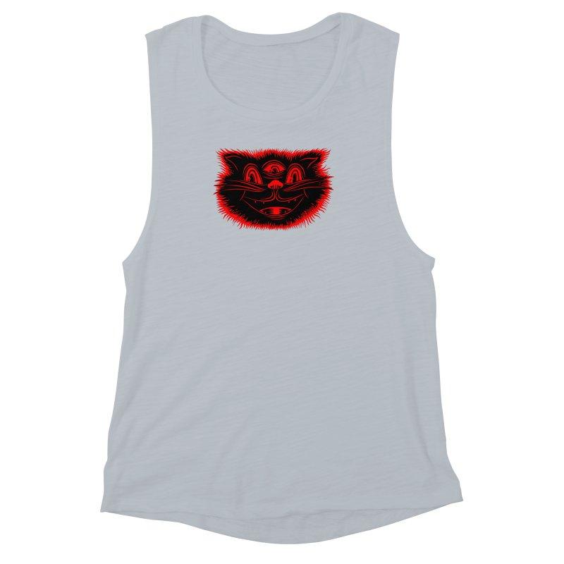 Meow Meow Women's Muscle Tank by redleggerstudio's Shop