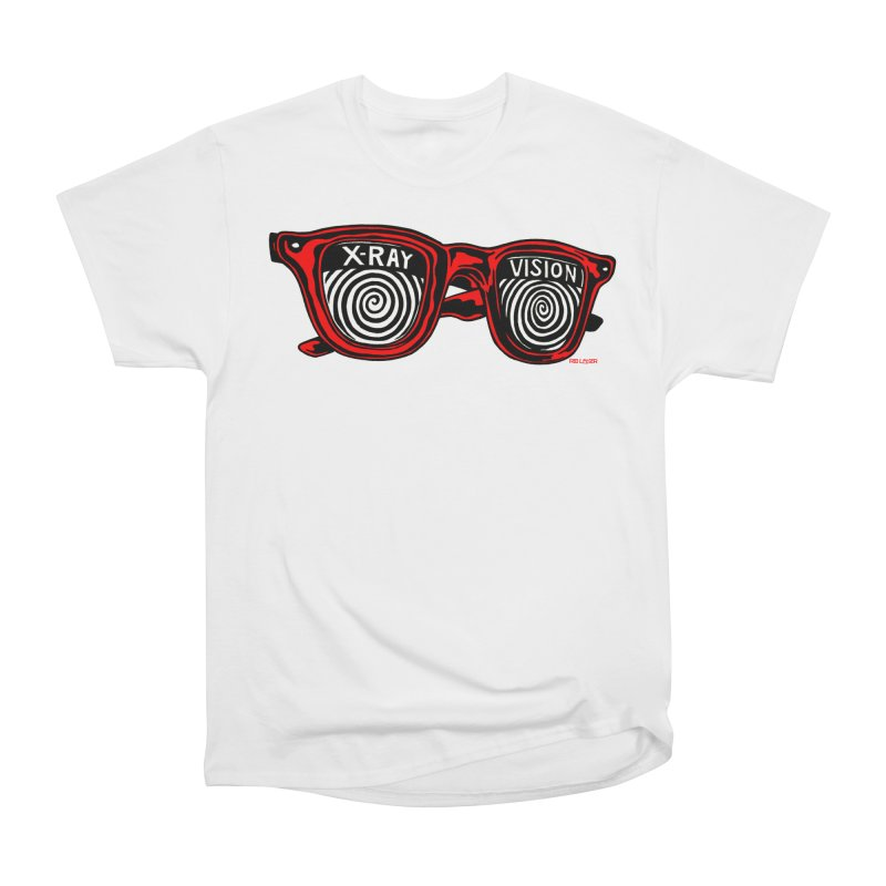 X-RAY Vision Men's Heavyweight T-Shirt by redleggerstudio's Shop